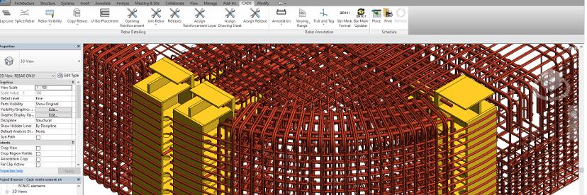 RebarCAD 3D for Revit - Rebarcad