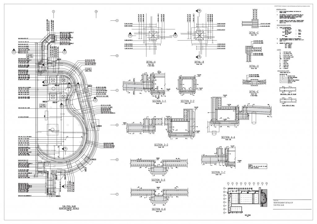 Rebarcad Sample Drawings Bar Bending Schedules Rebarcad
