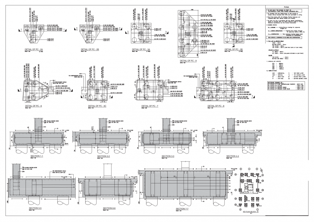RebarCAD sample drawings & Bar Bending Schedules - RebarCAD