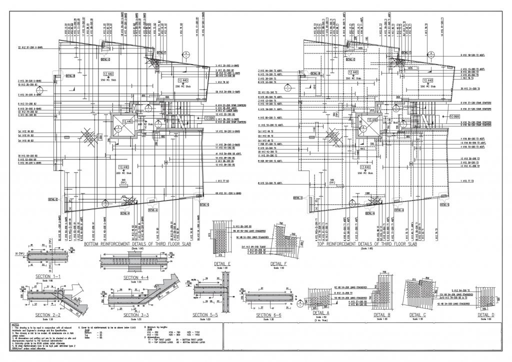 RebarCAD sample drawings & Bar Bending Schedules - RebarCAD